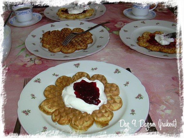Våffelfrukost