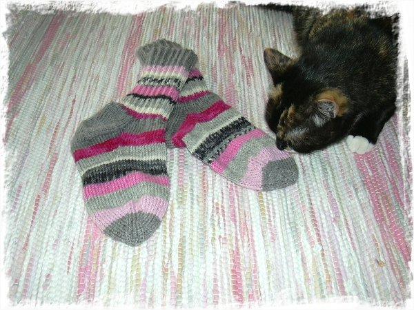 Smulan, sockor och matta