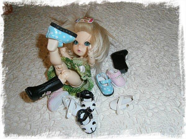 Alba-Stina provar skor