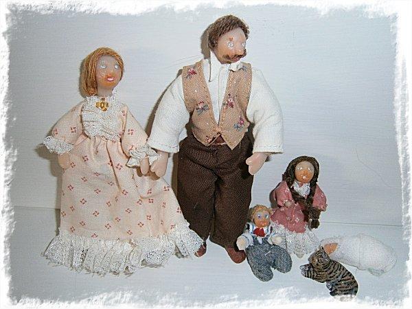 Min dockskåpsfamilj