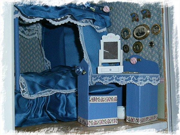 Möblerna på plats