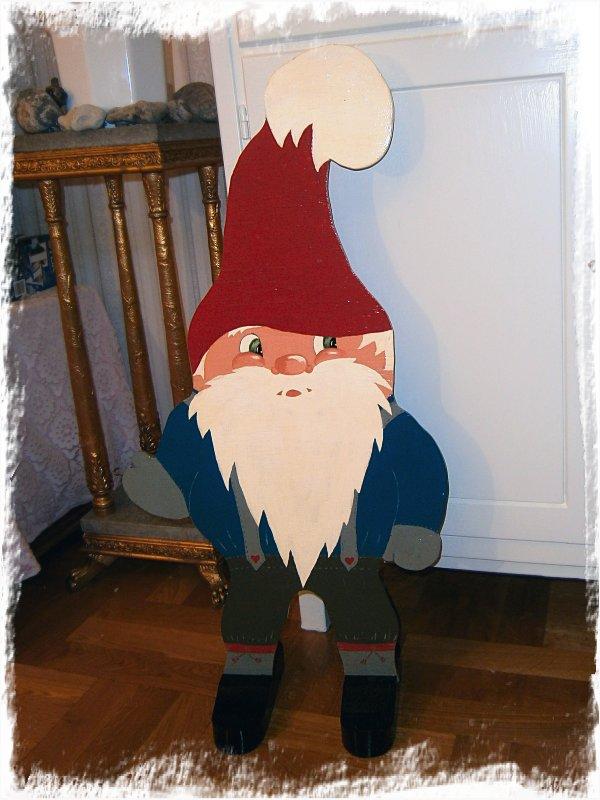 Nu har tomten kommit! Snart är det jul!