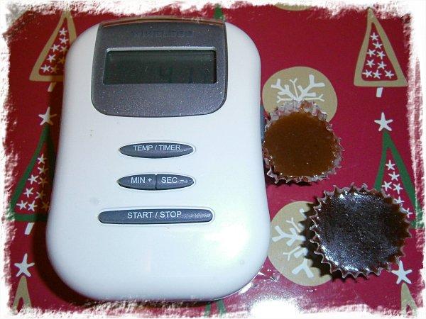 Skinktermometer och två sorters knäck