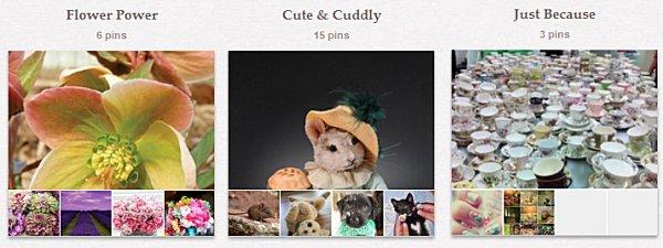 Ytterligare några av mina Pinterest-boards