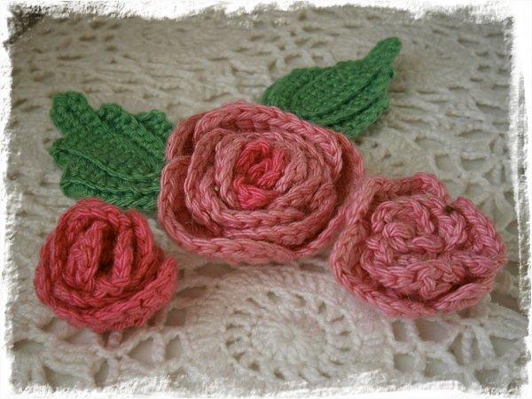 Virkade rosor
