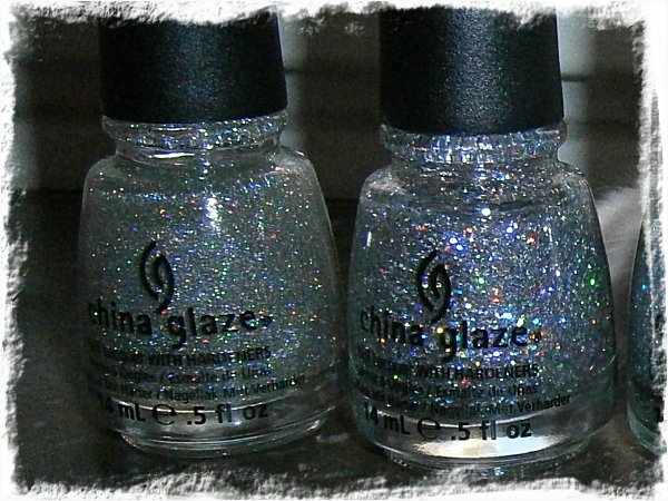 China Glaze Fairy Dust & China Glaze Nova