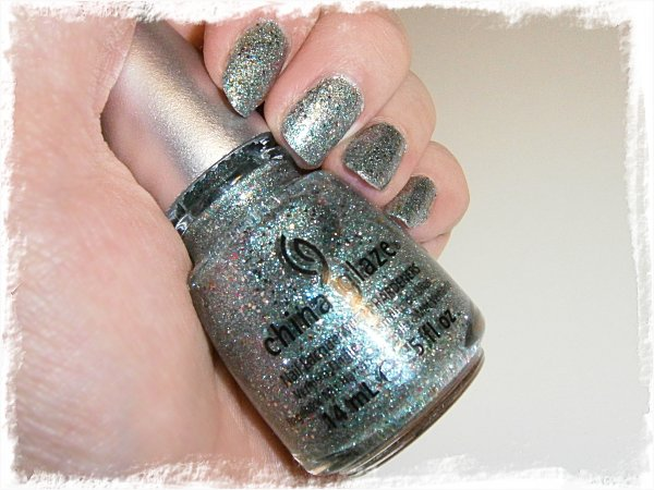 China Glaze Optical Illusion - inomhus, lampa + blixt