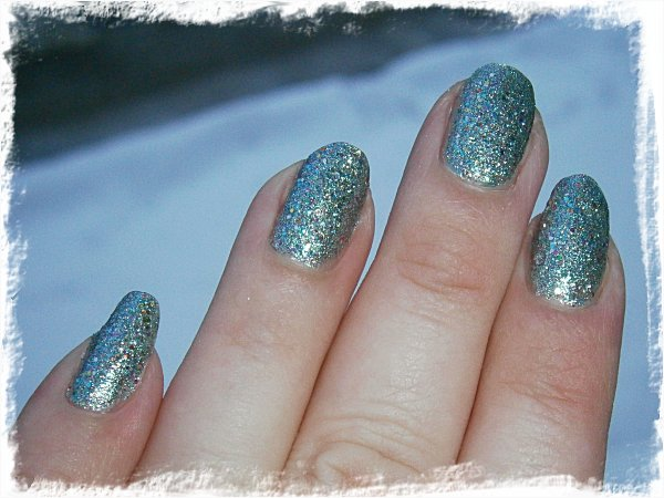 China Glaze Optical Illusion - utomhus, mulet + blixt