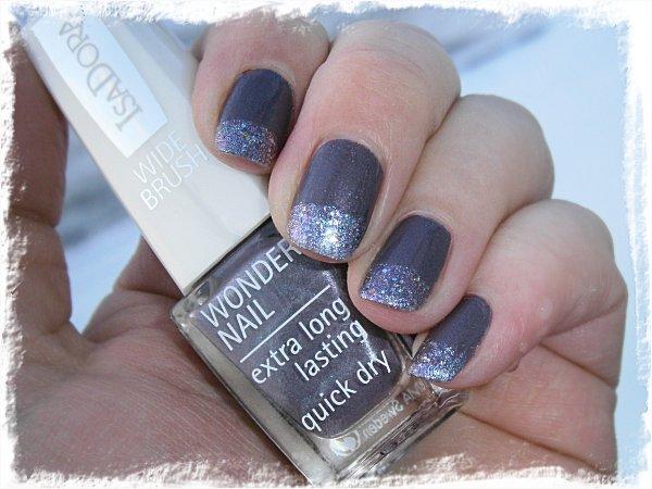 IsaDora Metal Mauve + China Glaze Prism - mulet + blixt
