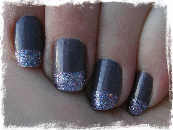 IsaDora Metal Mauve + China Glaze Prism - mulet