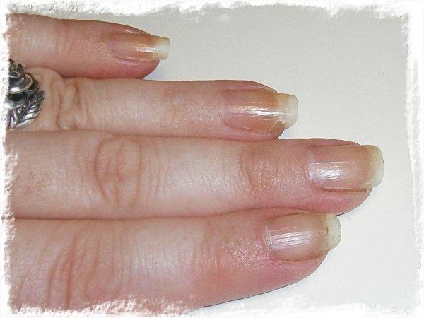 Nakna naglar efter 8 veckor
