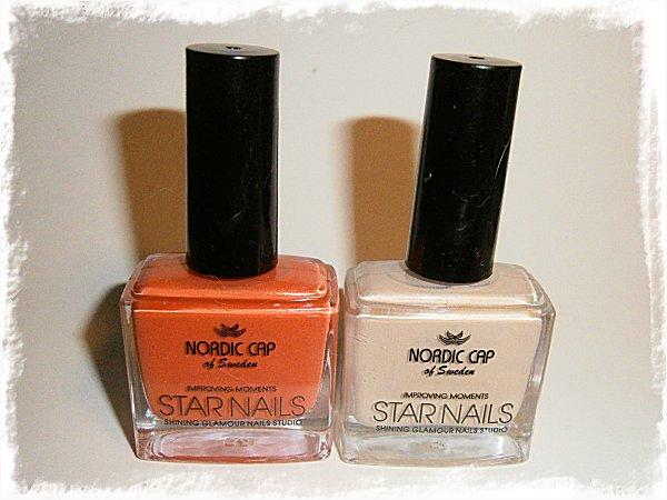 Nya lack från Nordic Cap/Star Nails