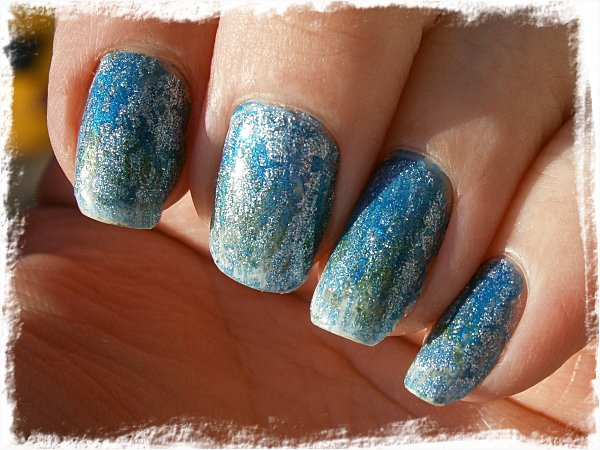 Too much-superkladdig-glitter-crackle-gradient