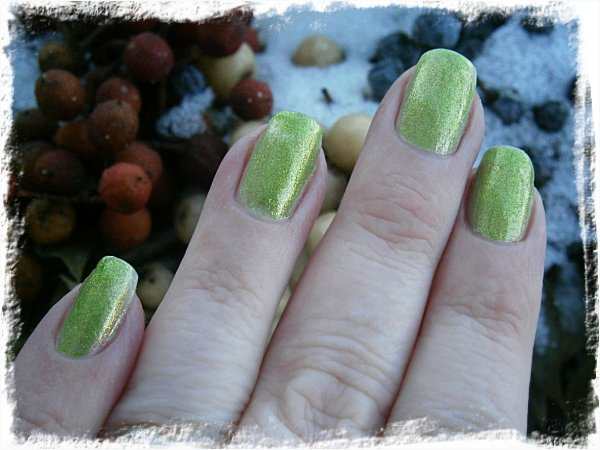 Express Colour Crazy Frog (över Milani Gold Leaf)