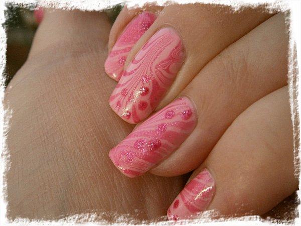 Rosa watermarble