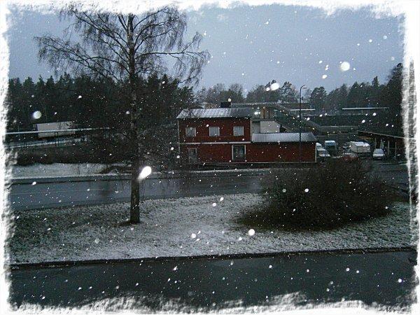 Första snön!