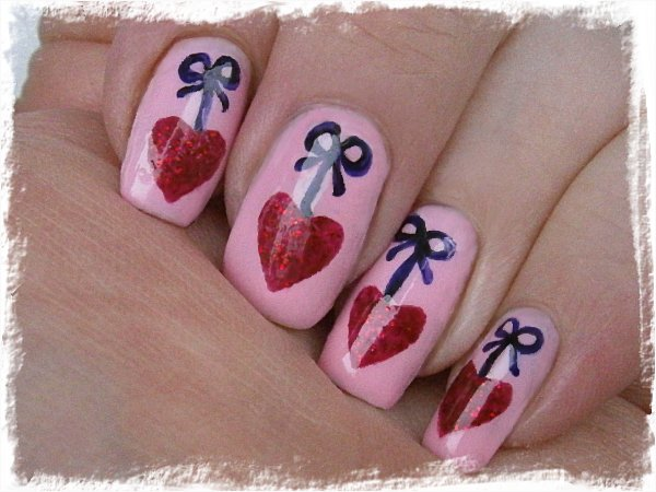 Alla Hjärtans-naglar